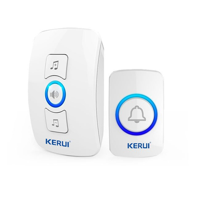 Kerui M525 32 tones led light long distance fashion wireless doorbell