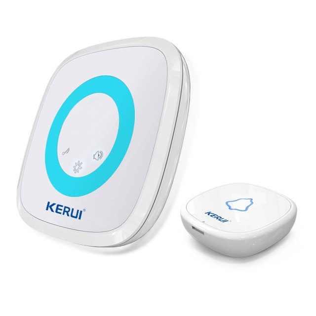 Kerui M516 52 tones led light memory function wireless doorbell